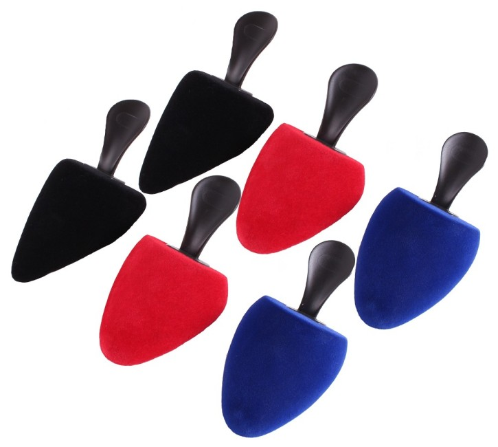 Foam shoetree Samty pack of 3 pairs: Pumps, pointed and univ