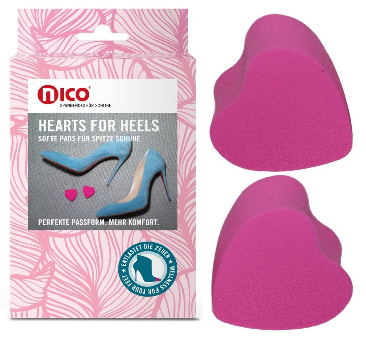 Hearts for heels Schuhpads
