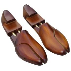 Schuhspanner Hartholz mit Fersenteil, B-Ware funktionsfähig