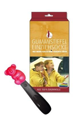 """1 Paar Kinder Einziehsocken für Gummistiefel mit Schuhlöffel """"Koala"""""""