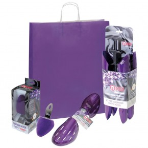 NEU: SALE nico Selection Purple Edition Geschenkset mit Schuhspanner und Stiefelspanner