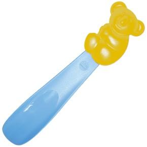 nico Schuhlöffel Koala für Kinder (mit Magnet), Gelb-Hellblau