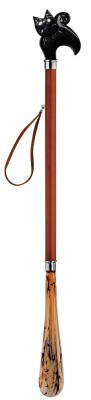 NOBLE SHOE HORN CERRY WOOD 27.5 INCHES (CAT)