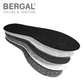 BERGAL Thermo Soft Gr. 43, Wintersohle mit High-Tech-Funktionsfaser PrimaLoft®